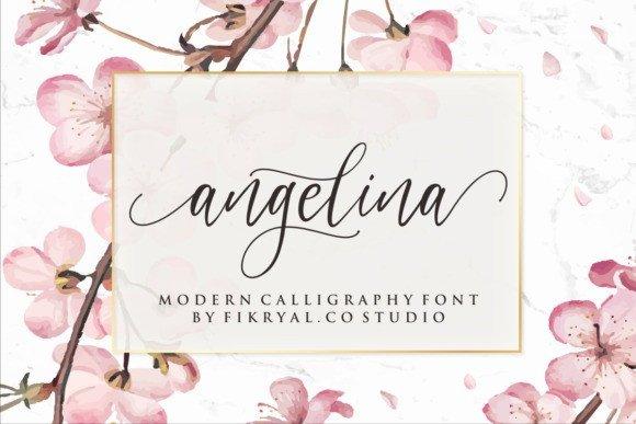 Angelina – Gorgeous Script Font