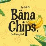 Bana Chips Display Font