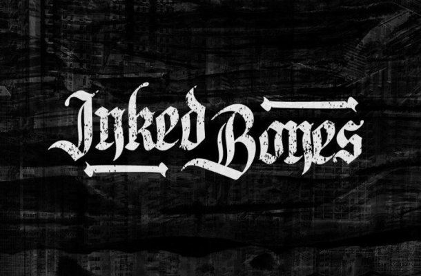 Inked Bones Blackletter Font