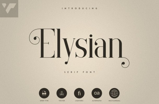 Elysian – Serif Font