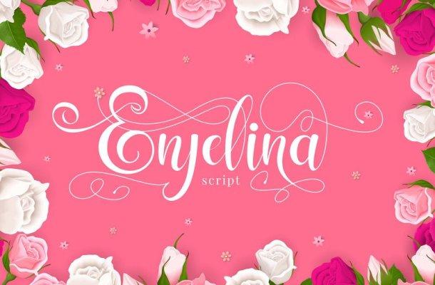 Enjelina Sweet Script Font