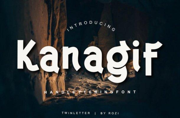Kanagif Font Free