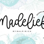 Madelief Monoline Handwritten Font