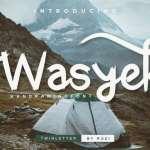 Wasyek Script Font