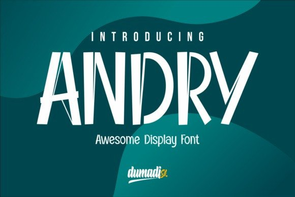 Andry Display Font