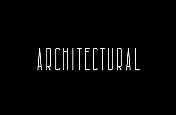 Architectural Free Font