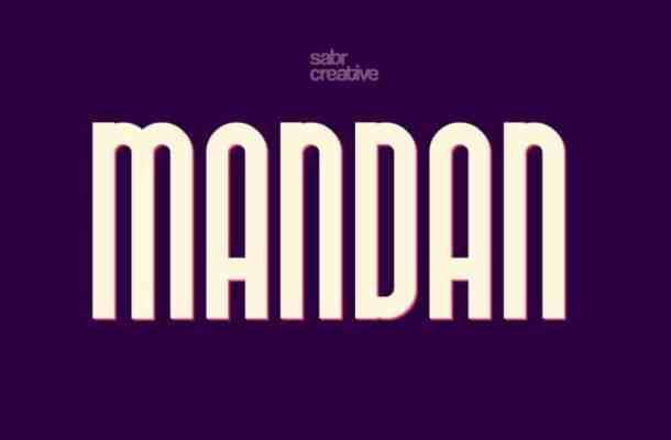 Mandan Typeface Free