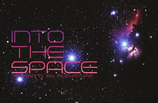 Terbaang Space Font