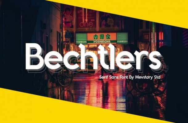Bechtlers Font Free