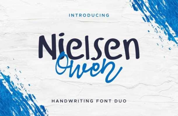 Nielsen Owen Font Duo