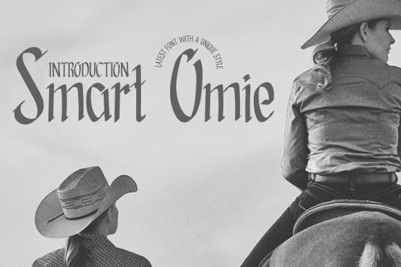 Smart Omie Display Font