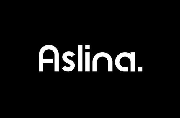 Aslina Display Font