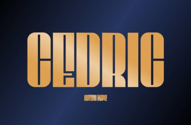 CEDRIC Display Font