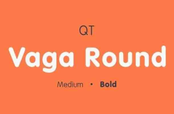 Vaga Round Sans Serif Font