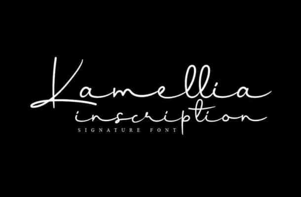 Kamellia Handwritten Font