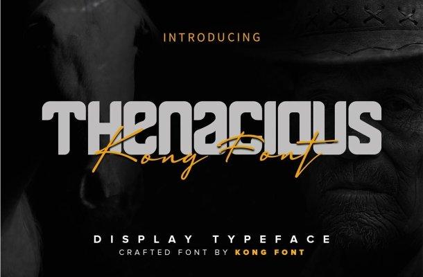Thenacious Display Font