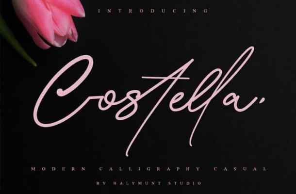 Costtella Handwritten Font