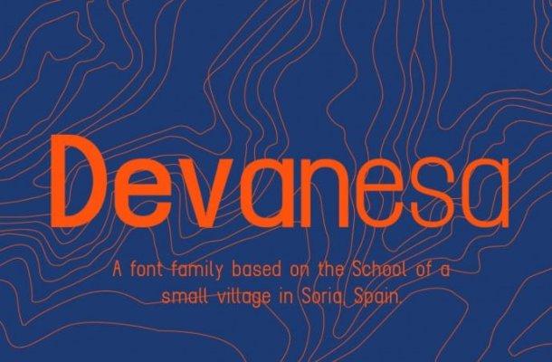 Devanesa Free Font