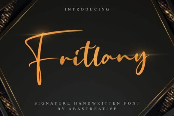 Fritlany Script Font