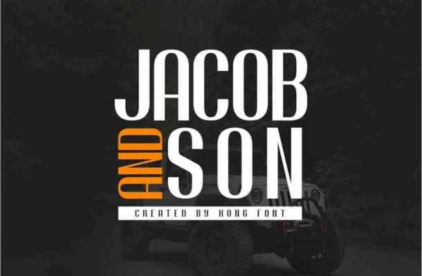Jacob And Son Sans Serif Font