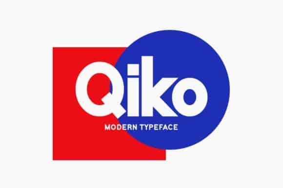 Qiko Sans Serif Font