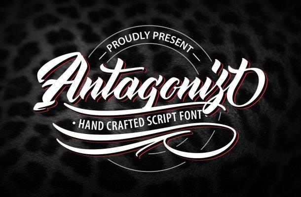 Antagonist Hand Crafted Script Font