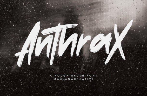 Anthrax Brush Script Font