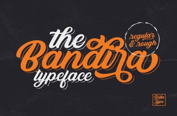 Bandira Script Typeface Free