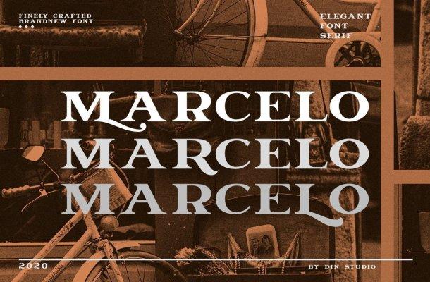 Marcelo Engraved Serif Font