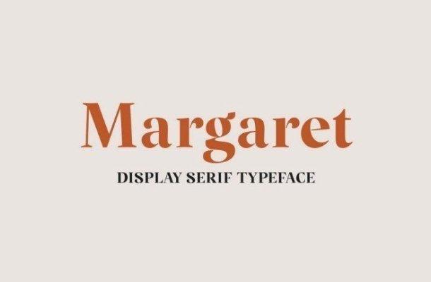 Margaret Display Serif Typeface