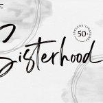 Sisterhood Brush Script Font
