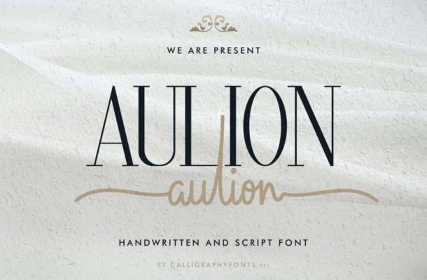 Aulion Font Duo Free