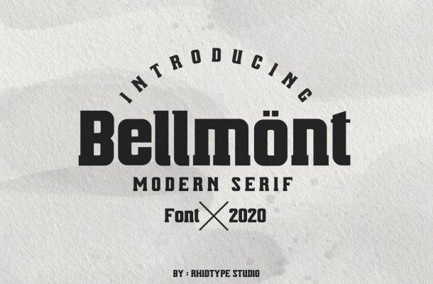 Bellmönt Modern Serif Typeface
