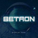Betron Display Font Free