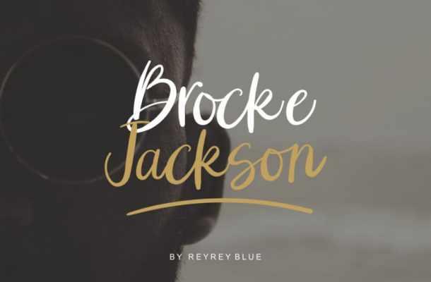 Brocke Jackson Script Font