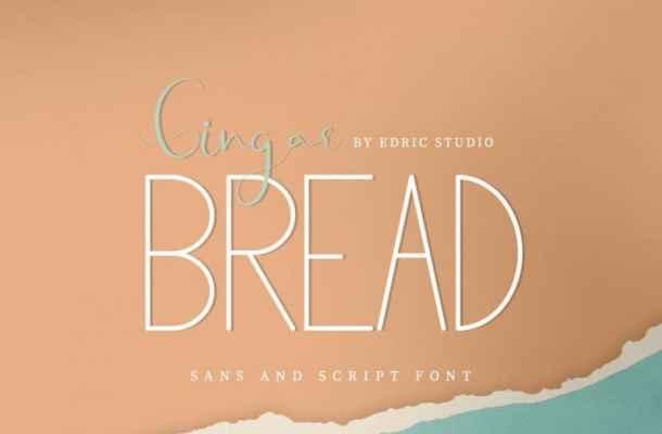 Gingar Bread Font Duo