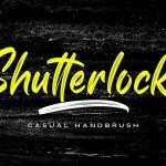 Shutterlocks Casual Handbrush Script Font