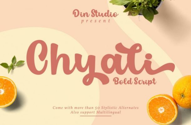 Chyali Script Font Free