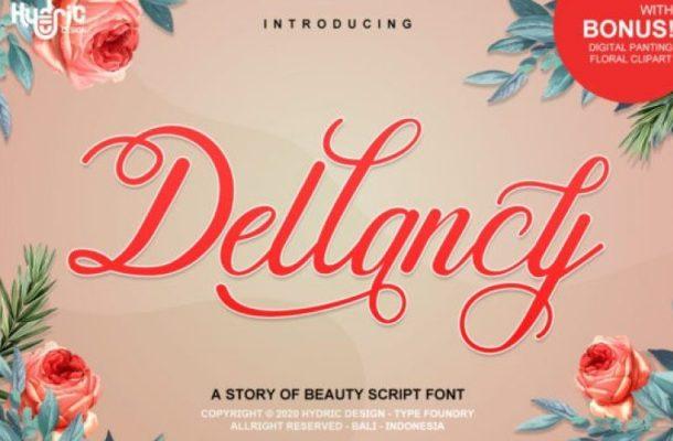 Dellancy Script Font Free