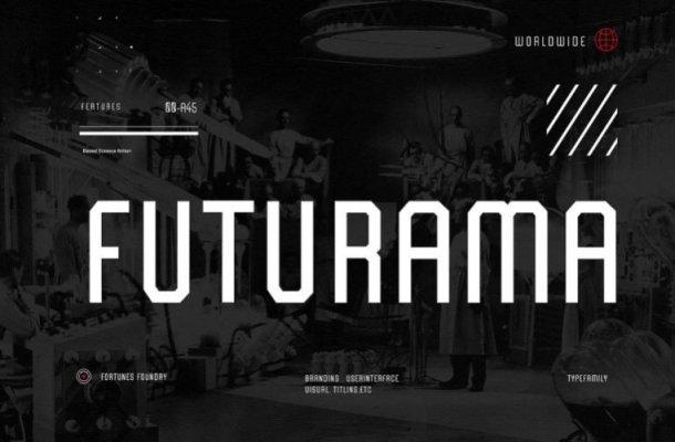 Futurama Display Font Free