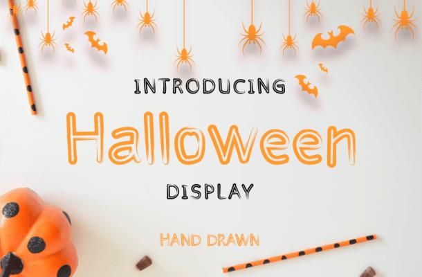 Halloween Display Font Free
