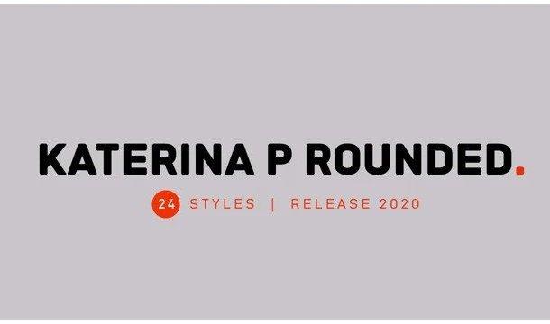 Katerina P Rounded Sans Serif Font