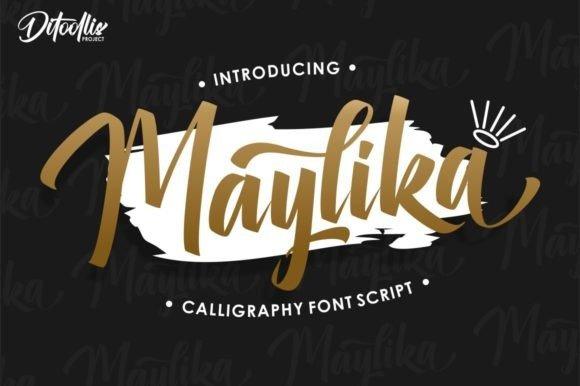 Maylika Script Font Free