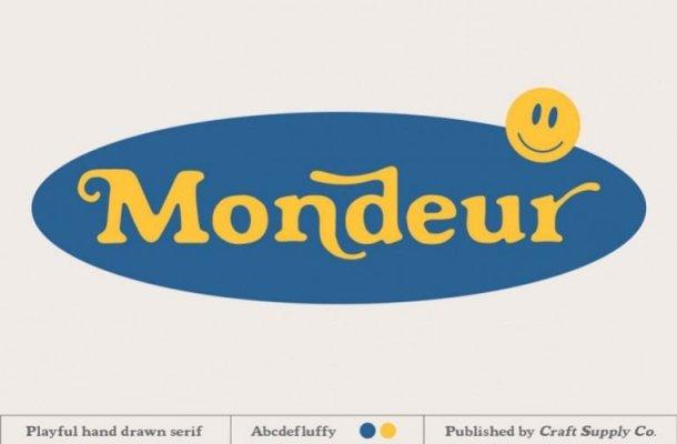 Mondeur Serif Font Free