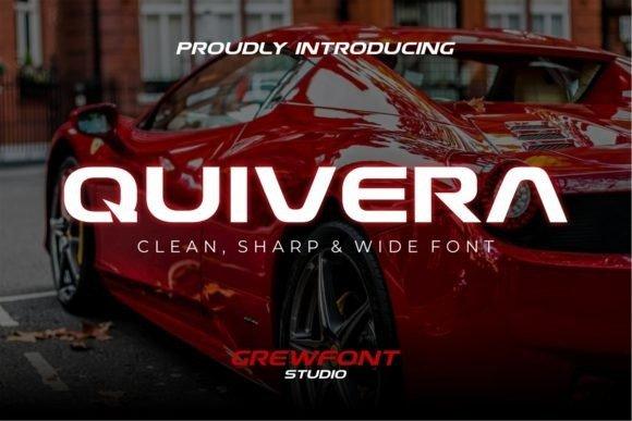 Quivera Display Font Free