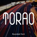Torao Display Font Free