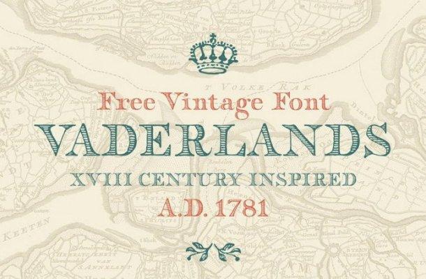 Vaderlands Display Font