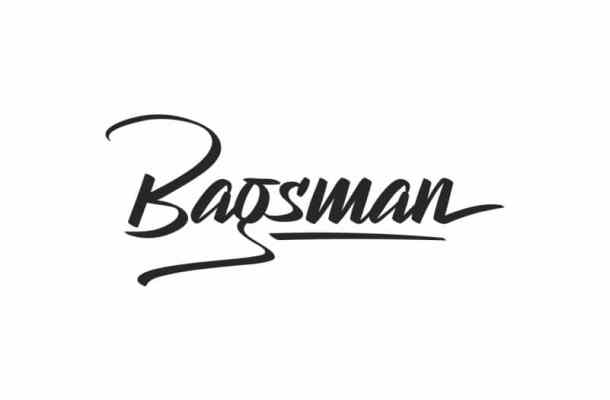 Bagsman Brush Hand Lettering Font
