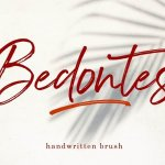 Bedontes Handwritten Brush Font