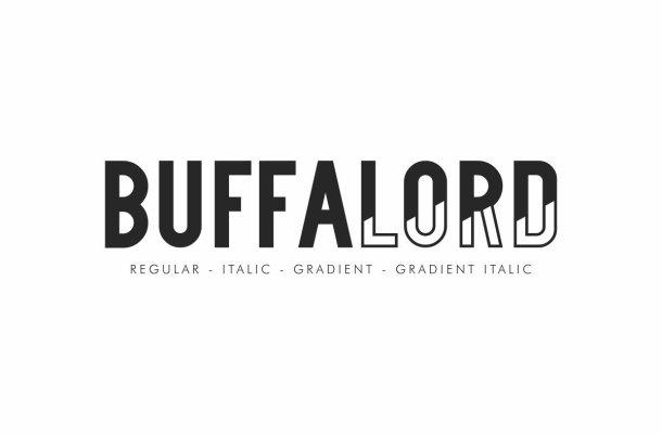 Buffalord Sans Serif Font Family